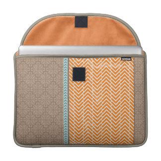 Orange Chevrons Sleeve For MacBook Pro Sleeve For MacBook Pro