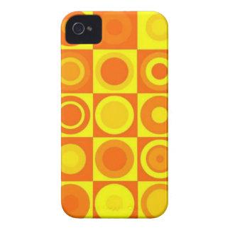 Orange circles iPhone 4 covers