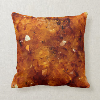 Orange Citrine Gems Cushion