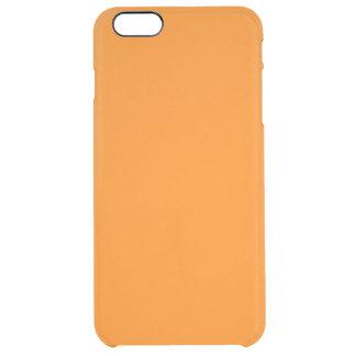 Orange Clear iPhone 6 Plus Case