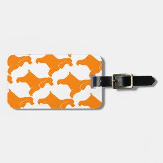 Orange Cocker Spaniel Luggage Tag
