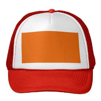 Orange Color Hat