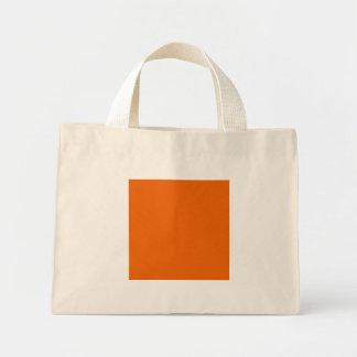 Orange Color Mini Tote Bag