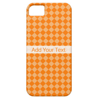 Orange Combination Diamond Pattern by STaylor Barely There iPhone 5 Case