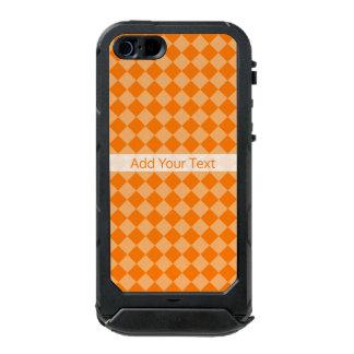 Orange Combination Diamond Pattern by STaylor Incipio ATLAS ID™ iPhone 5 Case