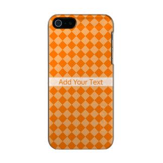 Orange Combination Diamond Pattern by STaylor Incipio Feather® Shine iPhone 5 Case