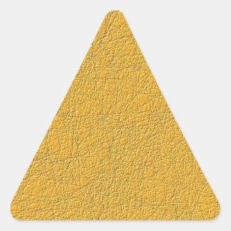 Orange cool nice pattern triangle sticker