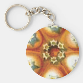 orange core art key ring