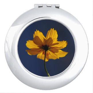 Orange Coreopsis Compact Mirror