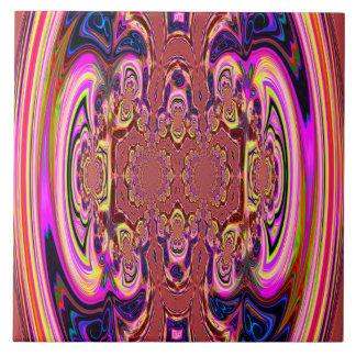 Orange Cosmic Spectacular Tile