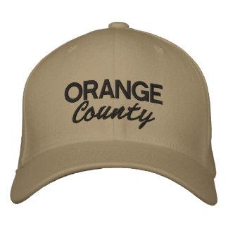 Orange County embroidered cap