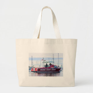 Orange County Sheriff Large Tote Bag