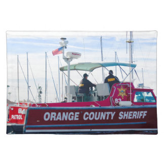 Orange County Sheriff Placemat