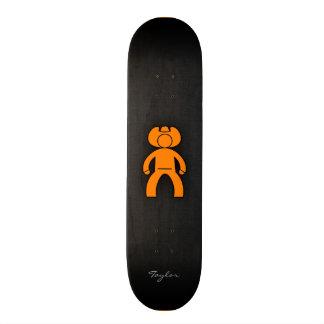 Orange Cowboy Skate Decks