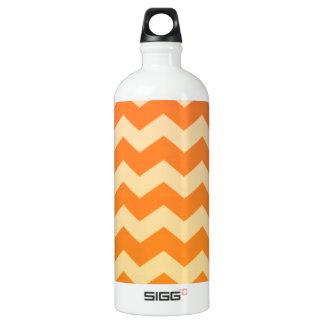 Orange Cream Chevron SIGG Traveller 1.0L Water Bottle