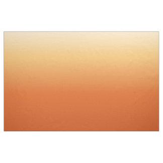 Orange Cream Gradient Fabric