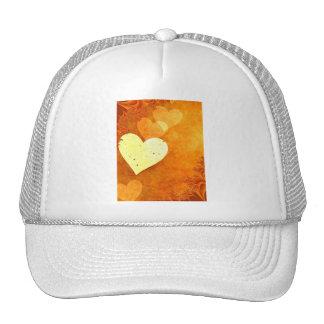 ORANGE CREAM HEATS LOVE DIGITAL BACKGROUNDS WALLPA CAP