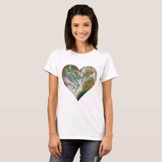 Orange Crush Heart T-Shirt