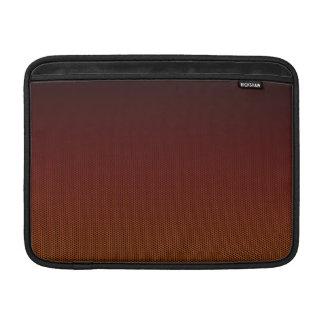 Orange Crush Hex MacBook Sleeves