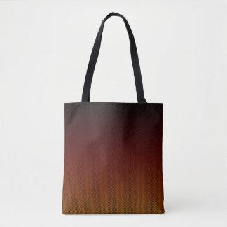 Orange Crush Hex Tote Bag