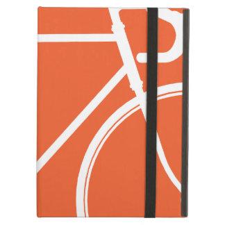 Orange Cycle Love Hipster  iPad Case