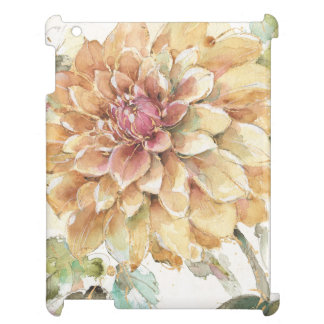Orange Dahlia iPad Covers