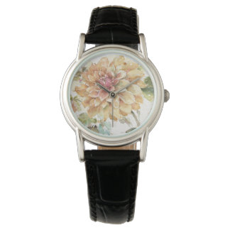 Orange Dahlia Wristwatch