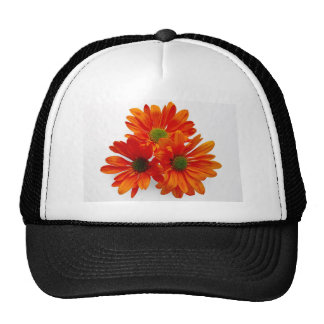 Orange Daisies Trucker Hats