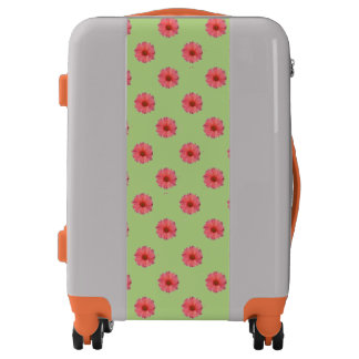 Orange Daisies Luggage