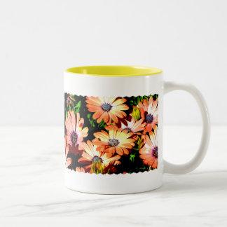 Orange Daisies Coffee Mug