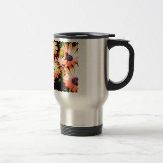 Orange Daisies Coffee Mugs