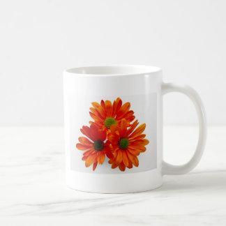 Orange Daisies Mug