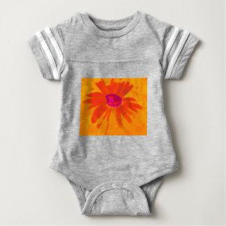 Orange Daisy Baby Bodysuit