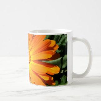 Orange Daisy design Customizable Mugs