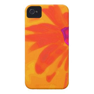 Orange Daisy iPhone 4 Case-Mate Case