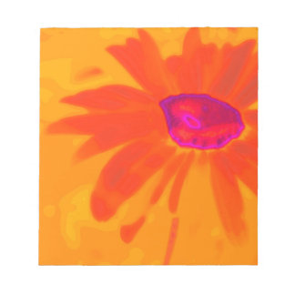 Orange Daisy Notepad