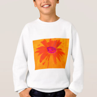 Orange Daisy Sweatshirt