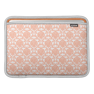 Orange Damask Pattern Macbook Air Sleeve