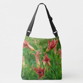 Orange Daylilies Summer 2016 Crossbody Bag