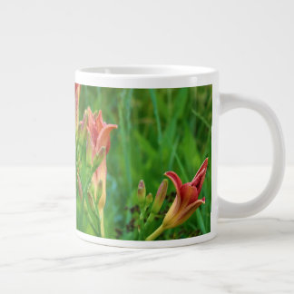 Orange Daylilies Summer 2016 Large Coffee Mug