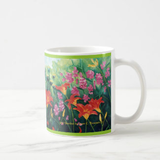 Orange Daylily Mug