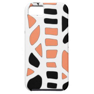 Orange decor tough iPhone 5 case
