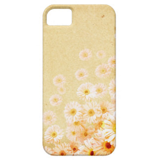 Orange Delicate Flower Iphone 5S Case Barely There iPhone 5 Case