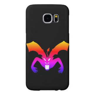 Orange Devil Samsung Galaxy S6 Cases