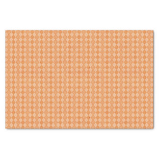 Orange Diamond Happy Birthday Tissue Paper