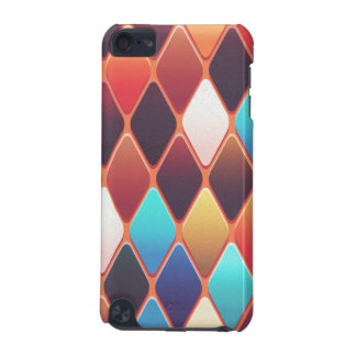 Orange Diamond Mosaic iPod Touch (5th Generation) Covers