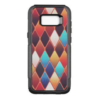 Orange Diamond Mosaic OtterBox Commuter Samsung Galaxy S8+ Case