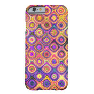 Orange Diamond Swirl iPhone 6/6s Boho Phone Case