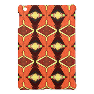 Orange Diamonds iPad Mini Case