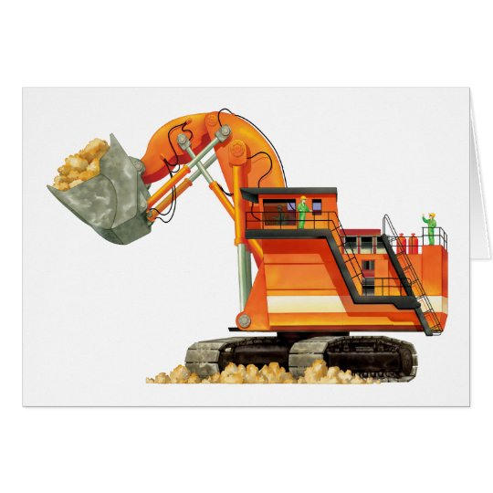 Orange Digger Card